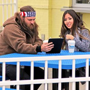 Duck Dynasty's Willie Robertson Walks Daughter Rebbeca Lo Robertson Down