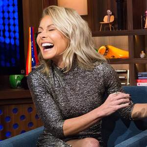 Kelly Ripa Gives an Update on Live! With Kelly's Co-Host Search