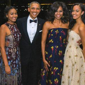 President Barack Obama and Michelle Obama Reveal Their Family's Final