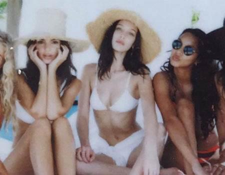Alessandra Ambrosio, Bella Hadid and More Bikini Babes Ditch the Cold for a