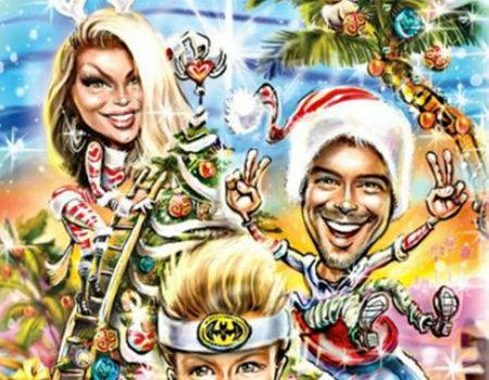 Fergie and Josh Duhamel's Christmas Card Will Likely Put Your