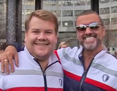 George Michael Starred in an Early Version of James Corden's Carpool