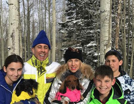 Jerry Seinfeld's Kids Are All Grown Up While Posing for Family Holiday
