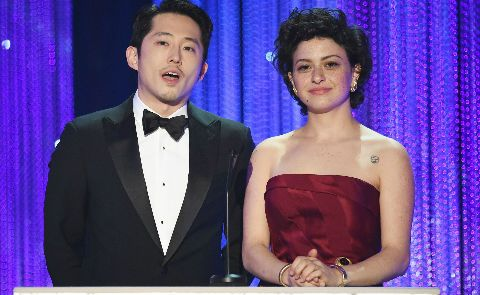 steven yeun ali sawkhat Which Trump burn was the best of the 2017 SAG Awards?