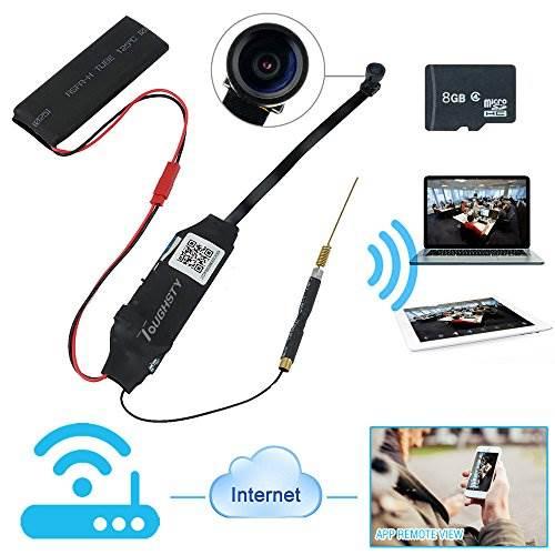 Toughsty™ 8GB 1920x1080P HD Wifi Network Camera Hidden Video R…