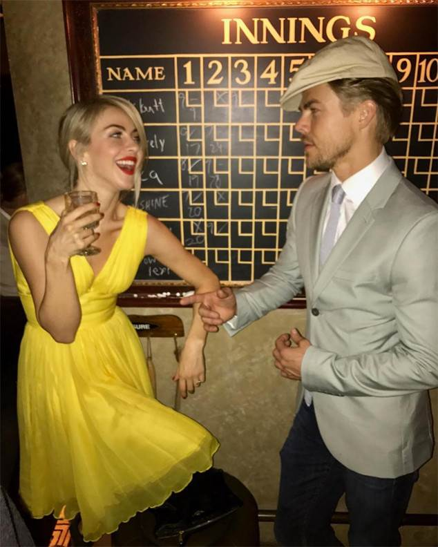 Julianne Hough & Derek Hough Dress Up Like La La Land Couple at Nina