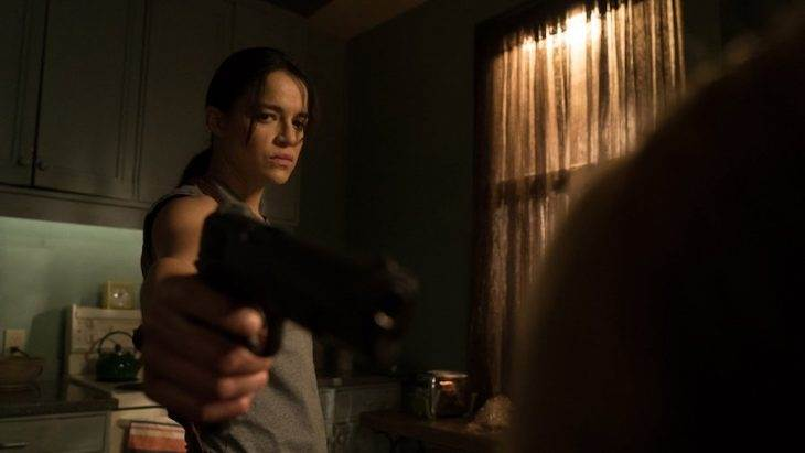 Michelle Rodriguez is a Hit Man Trapped in a Woman's Body in 'The