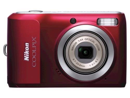 Nikon Coolpix L20 10MP Digital Camera with 3.6 Optical Zoom an…