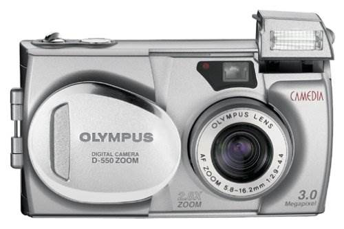 Olympus Camedia D-550 3MP Digital Camera w/ 2.8x Optical Zoom