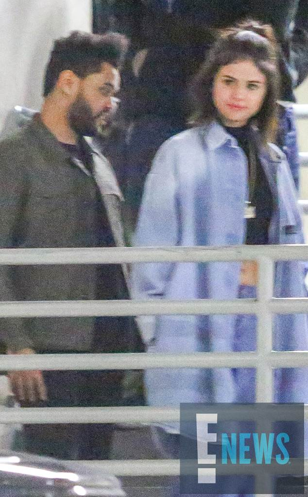 Selena Gomez and The Weeknd Look ''Smitten'' While Hanging