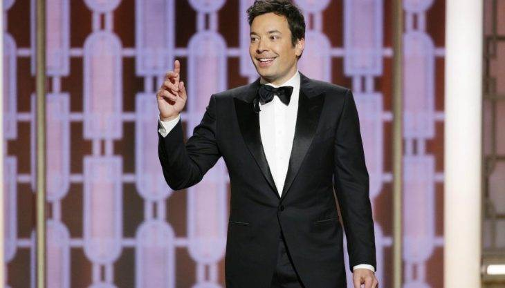 Jimmy Fallon goes for Trump redemption with Golden Globes monologue
