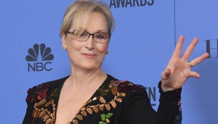 Can we give Meryl Streep's Golden Globes speech its own award?