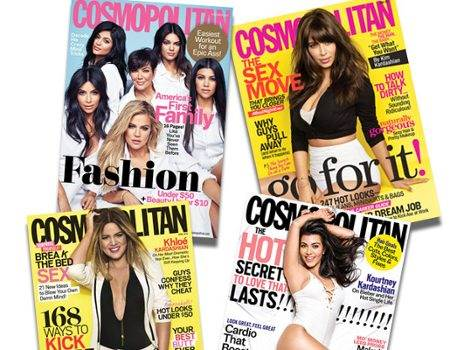 Kardashians on Cosmopolitan: See Kim, Khloe and Kourtney's Fun, Fearless