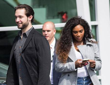 Serena Williams Spotted With Her Ring for the First Time After Her Engagement