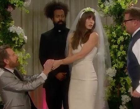 Jessica Biel, Bryan Cranston and James Corden Star in a Soap Opera Set to Kanye