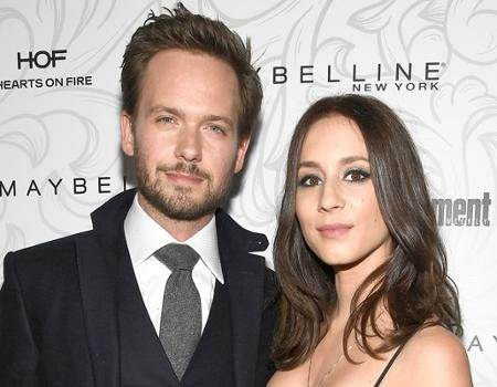 "Troian Bellisario and Patrick J. Adams Dish on Their ""Blissful"""