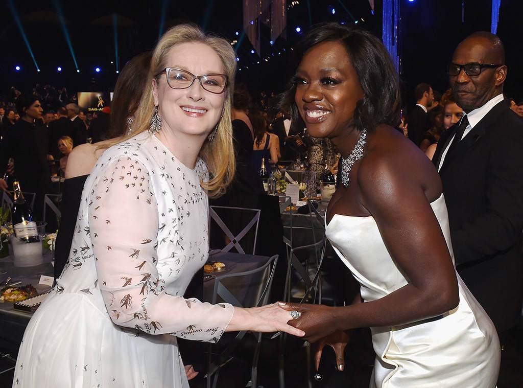 Meryl Streep, Viola Davis, Award Show Besties