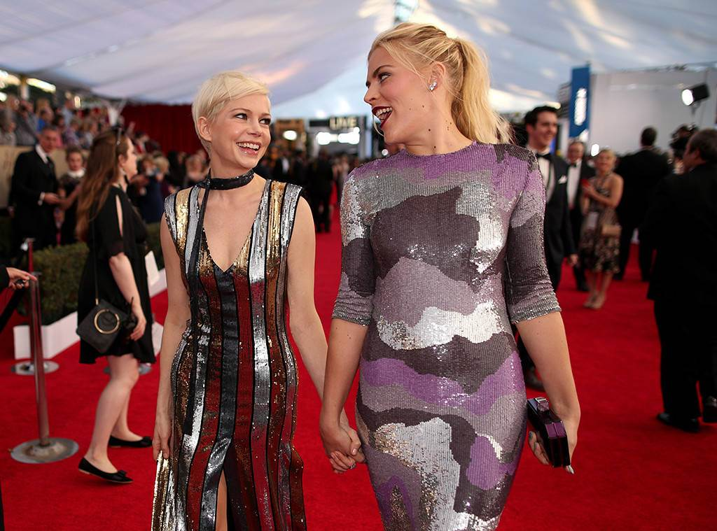 Michelle Williams, Busy Philipps, Award Show Besties