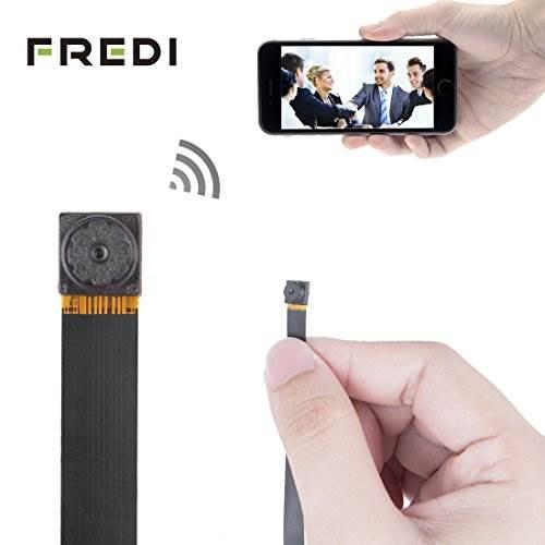 FREDI HD Mini Super Small Portable Hidden Spy Camera P2P Wirel…