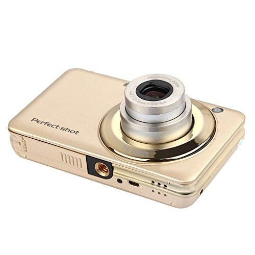 KINGEAR KG007 2.7 Inch TFT 5X Optical Zoom 15MP 1280×720 HD An…
