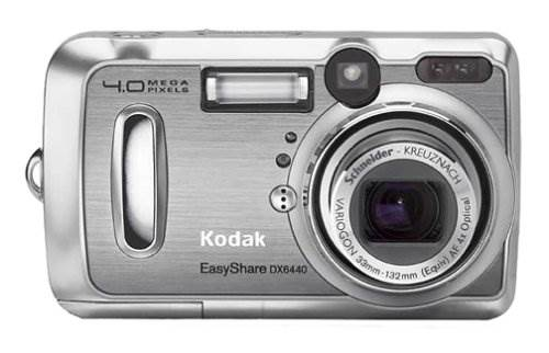 Kodak EasyShare DX6440 4MP Digital Camera w/ 4x Optical Zoom a…