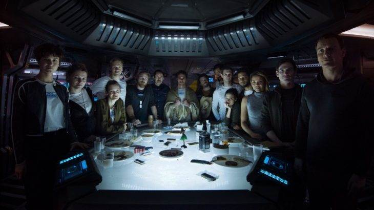 Place Your Bets: How Many Characters In This 'Alien: Covenant' Photo