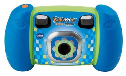 VTech Kidizoom Camera Connect, Blue (Discontinued by manufactu…