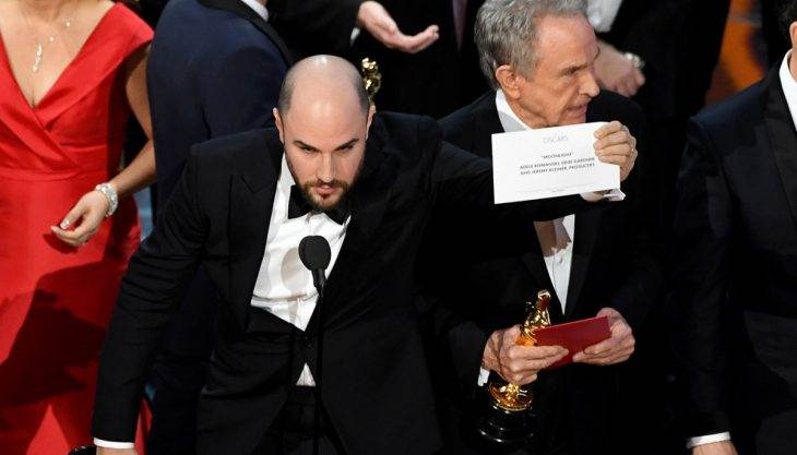 'Warren, what did you do?!': The greatest Oscars gaffe in history