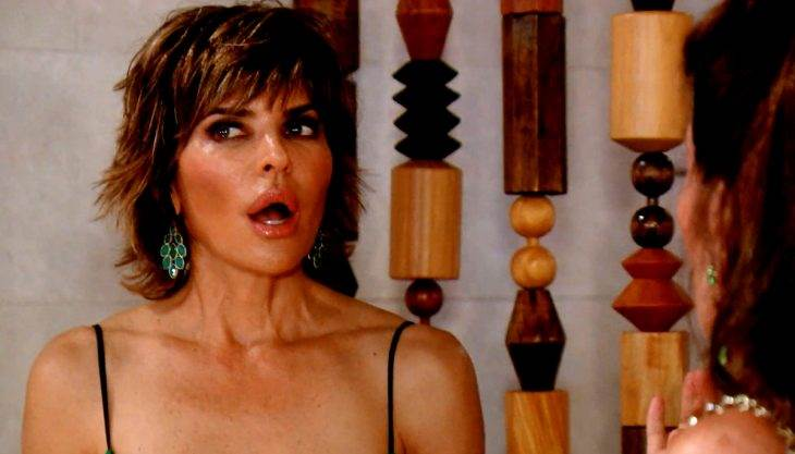 Freefalls, fights & one Lisa Rinna freakout: The 'Housewives' roundup