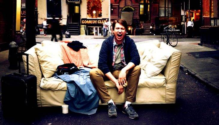 Pete Holmes' 'sweet doof' act is brilliant marketing, even if it's not