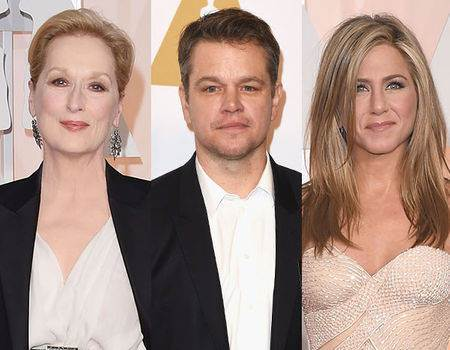 Jennifer Aniston, Matt Damon, Meryl Streep and More Stars Announced as Final