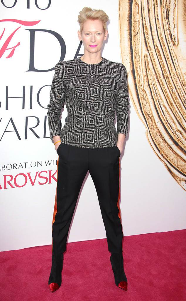 Tilda Swinton, 2016 CFDA Fashion Awards