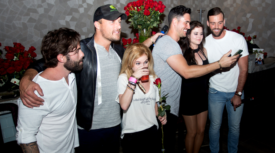 tk chris soules emily bicks josh murray robby hayes bachelor bachelorette The unfiltered insanity of watching The Bachelor finale with a gaggle of former Bachelors