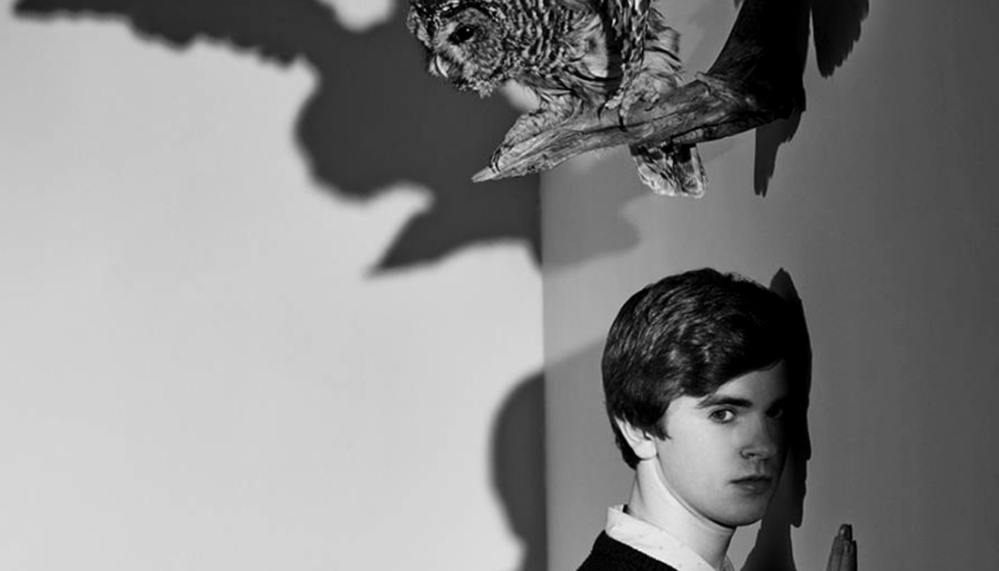 freddie highmore owl bates motel newsletter Rihannas fantastic arrival fits perfectly into the thrills of this gamechanging Bates Motel