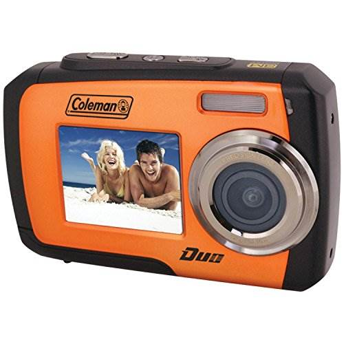 Coleman Duo 2V7WP-O 14 Megapixel Waterproof Digital Camera wit…