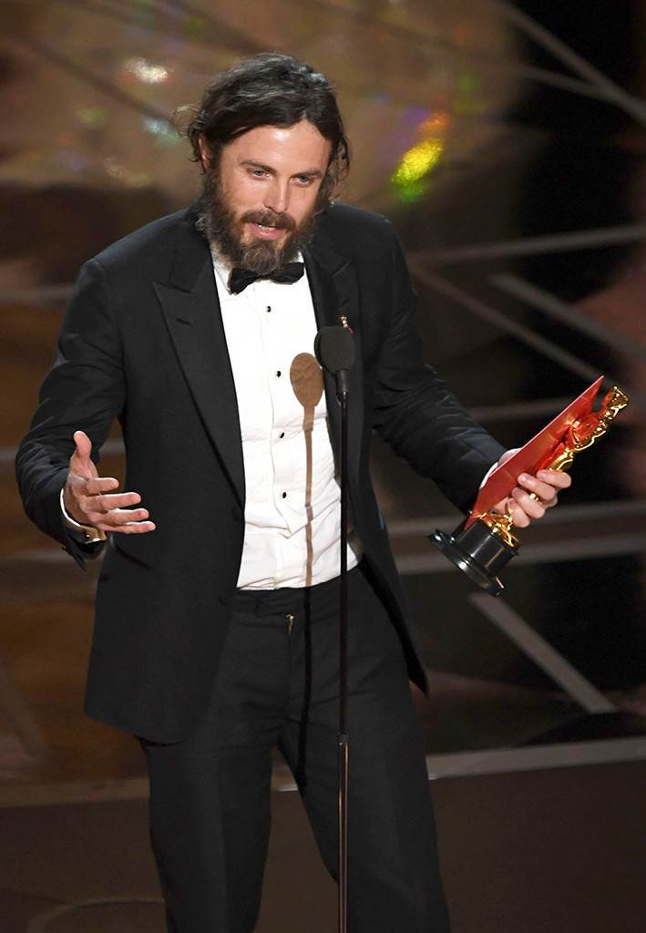 Casey Affleck, 2017 Oscars, Academy Awards, Winners