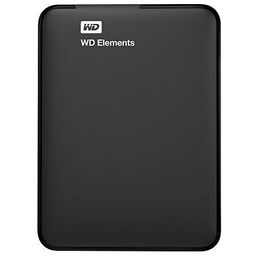 WD 1TB Elements Portable External Hard Drive  – USB 3.0  –