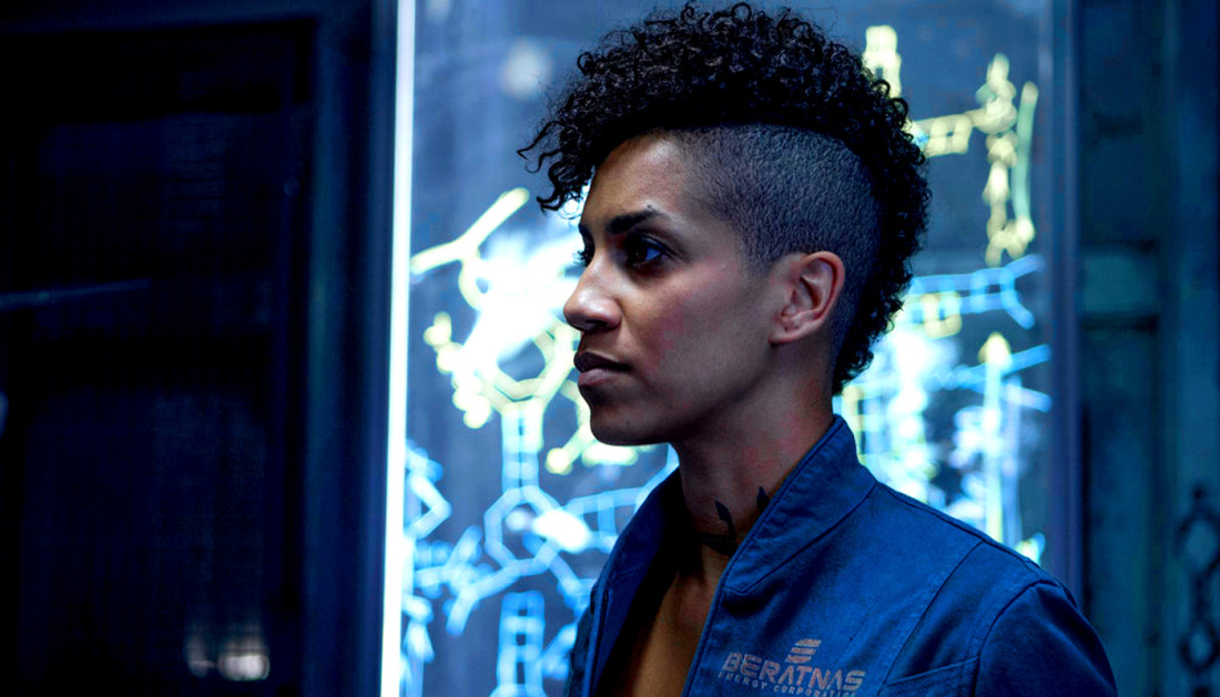 dominique tipper naomi nagata expanse syfy When the alien threats over, do we go back to hating each other? Expanse goes post apocalyptic