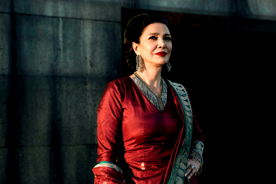 shohreh aghdashloo chrisjenn avarasala expanse syfy The ladies of The Expanse have decided to defect    in beautiful, and heartbreaking, ways