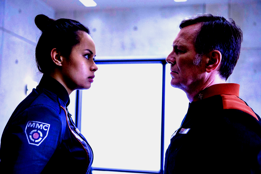 frankie acosta peter outerbridge bobbie draper martens expanse syfy The ladies of The Expanse have decided to defect    in beautiful, and heartbreaking, ways