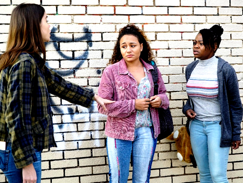 daffany mcgaray clark hope olaide wilson maia mitchell diamond daphne fosters freeform The Fosters finale is the perfect storm of danger, trauma & twists    it honestly couldnt be better or more intense