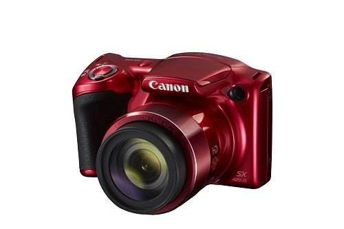Canon PowerShot SX420 IS (Red) with 42x Optical Zoom and Built…