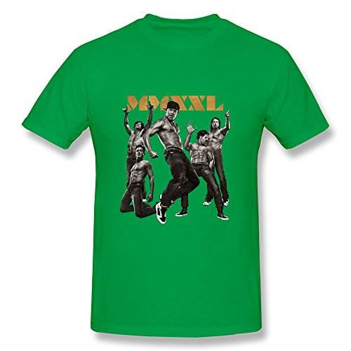 Men 39 s magic mike xxl sizelarge colorforestgreen tees new for Best custom t shirts reddit