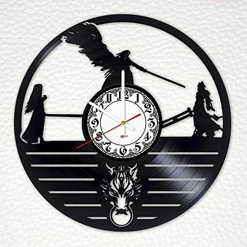 New Video Games Vinyl Record Wall Clock – Get unique play room…