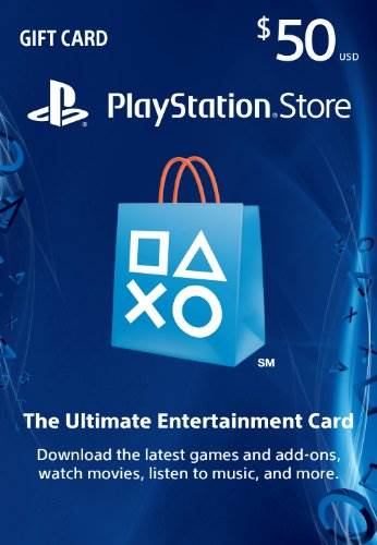 $50 PlayStation Store Gift Card – PS3/ PS4/ PS Vita [Digital C…