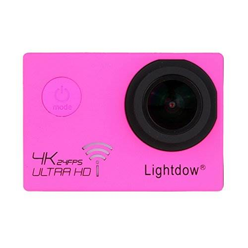 Lightdow LD-4K 12.40M Real 4K High Speed Wifi Sports Action Ca…