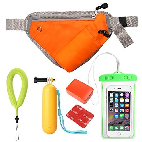 Waterproof Action Camera Accessories Set Floating Wrist Strap …