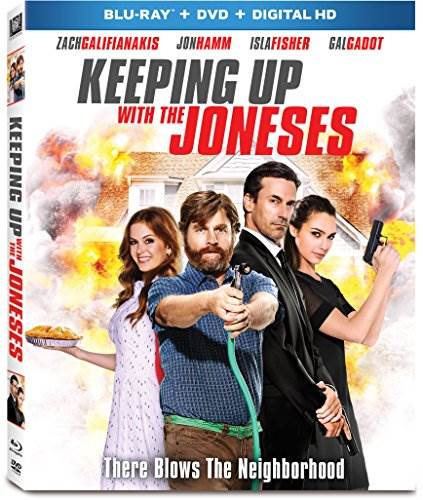 Keeping Up With The Joneses [Blu-ray]