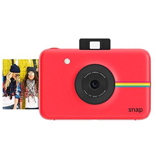 Polaroid Snap Instant Digital Camera (Red) with ZINK Zero Ink …