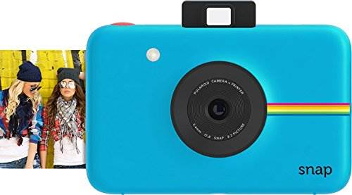 Polaroid Snap Instant Digital Camera (Blue) with ZINK Zero Ink…